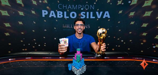 Pedro Silva Triumphs in the partypoker LIVE South America Main Event