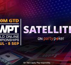 ¡Clasifica al WPT World Online Championships desde US$3,30!