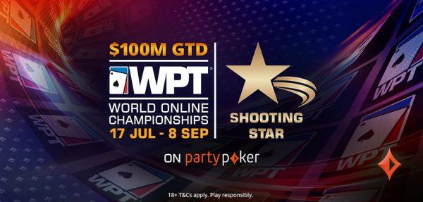 Com celebridades, WPT Shooting Stars For Charity terá bounties de $ 500 e US$ 500 mil garantidos