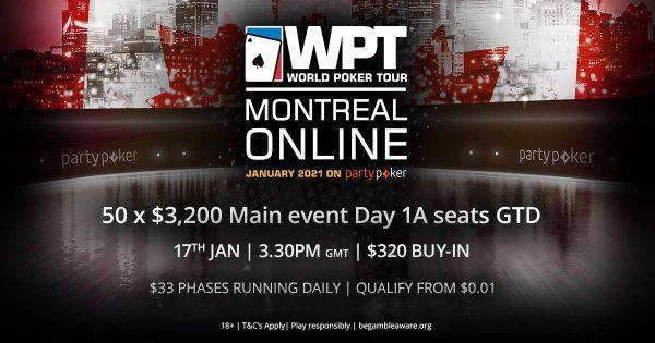 Milionário, WPT Montreal estreia neste domingo, com Mega Satélite de 50 assentos