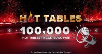 Hot Tables smash through 100,000 barrier
