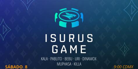 Isurus Game: el freeroll y un Sit & Go explotan en Twitch