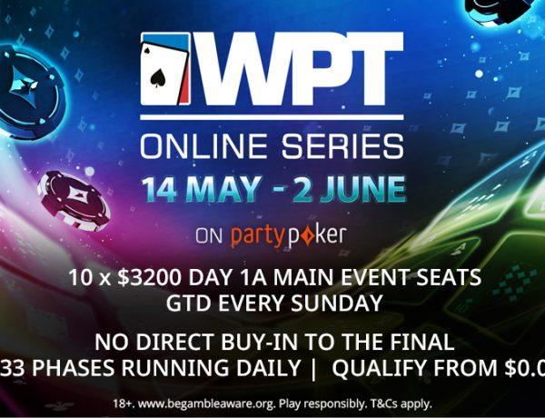 WPT Online Series: no se pierdan los satélites desde US$0,01