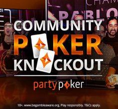 Com Gtd quadriplicado e prêmios especiais, Community Poker Knockout retorna em julho; entenda o torneio