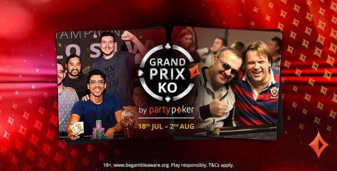 ¡Últimas chances! Es la hora de jugar los Grand Prix KO Main Events
