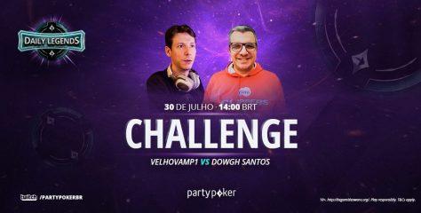 Fenômeno na Twitch, Velhovamp1 enfrenta Dowgh Santos nesta sexta pelo DLC